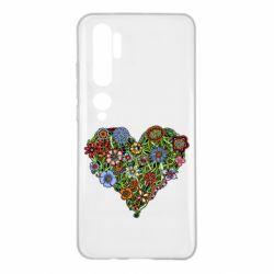 Чохол для Xiaomi Mi Note 10 Flower heart
