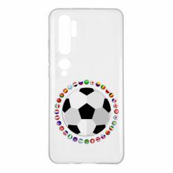 Чохол для Xiaomi Mi Note 10 Football