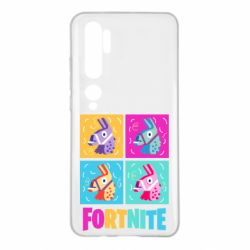 Чехол для Xiaomi Mi Note 10 Fortnite Llamas