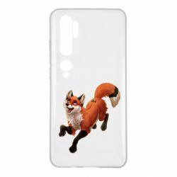 Чехол для Xiaomi Mi Note 10 Fox in flight