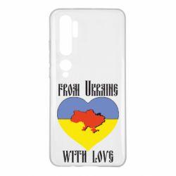 Чехол для Xiaomi Mi Note 10 From Ukraine with Love