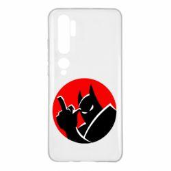 Чехол для Xiaomi Mi Note 10 Fuck Batman