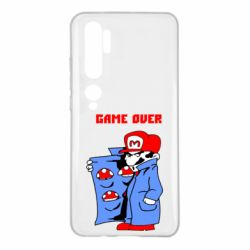 Чехол для Xiaomi Mi Note 10 Game Over Mario