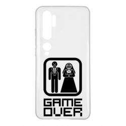 Чехол для Xiaomi Mi Note 10 Game Over
