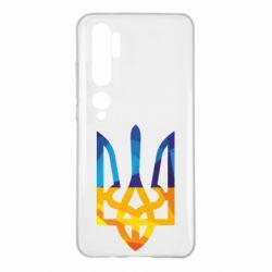 Чехол для Xiaomi Mi Note 10 Герб из ломанных линий