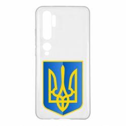 Чохол для Xiaomi Mi Note 10 Герб України 3D