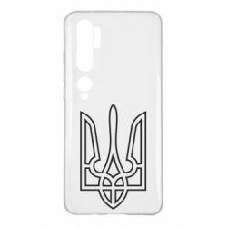 Чохол для Xiaomi Mi Note 10 Герб України (полий)