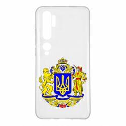 Чехол для Xiaomi Mi Note 10 Герб Украины полноцветный