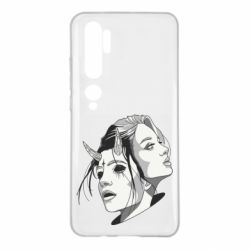 Чехол для Xiaomi Mi Note 10 Girl and demon