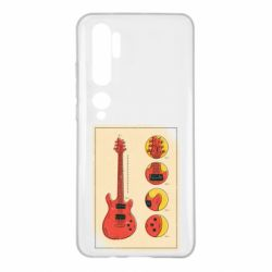 Чохол для Xiaomi Mi Note 10 Гітара