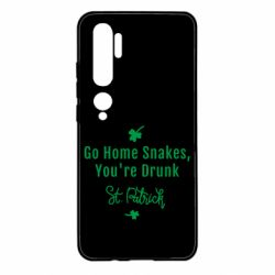 Чохол для Xiaomi Mi Note 10 Go home shakes, youre drunk St. Patrick