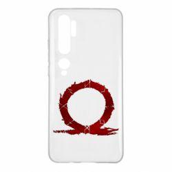 Чехол для Xiaomi Mi Note 10 God Of War Circle