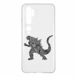 Чохол для Xiaomi Mi Note 10 Godzilla from the newspapers