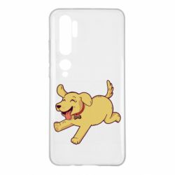 Чехол для Xiaomi Mi Note 10 Golden retriever