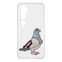 Чехол для Xiaomi Mi Note 10 Голубь