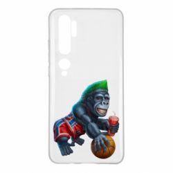 Чехол для Xiaomi Mi Note 10 Gorilla and basketball ball