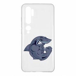 Чохол для Xiaomi Mi Note 10 Gym Shark
