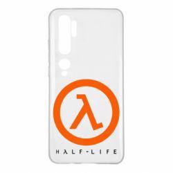 Чехол для Xiaomi Mi Note 10 Half-life logotype