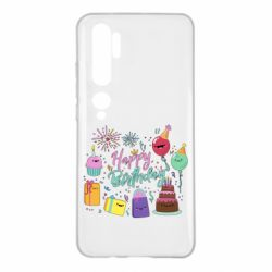 Чохол для Xiaomi Mi Note 10 Happy Birthday