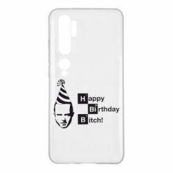 Чехол для Xiaomi Mi Note 10 Happy Birthdey Bitch Во все тяжкие