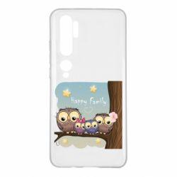 Чехол для Xiaomi Mi Note 10 Happy family