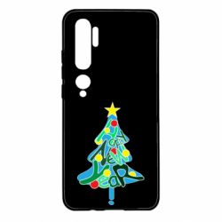 Чохол для Xiaomi Mi Note 10 Happy new year on the tree