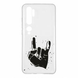 Чехол для Xiaomi Mi Note 10 HEAVY METAL ROCK