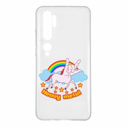 Чехол для Xiaomi Mi Note 10 Heavy metal unicorn