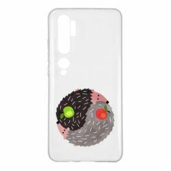 Чохол для Xiaomi Mi Note 10 Hedgehogs yin-yang