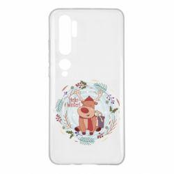 Чехол для Xiaomi Mi Note 10 Hello winter!