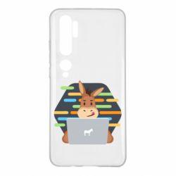 Чехол для Xiaomi Mi Note 10 Horse hacker