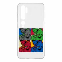Чехол для Xiaomi Mi Note 10 Hulk pop art