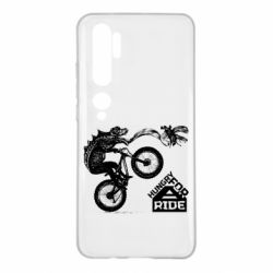 Чехол для Xiaomi Mi Note 10 Hungry for  a ride