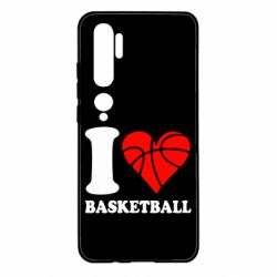 Чохол для Xiaomi Mi Note 10 I love basketball