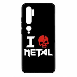 Чехол для Xiaomi Mi Note 10 I love metal