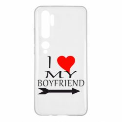 Чехол для Xiaomi Mi Note 10 I love my boyfriend