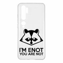 Чехол для Xiaomi Mi Note 10 I'm ENOT