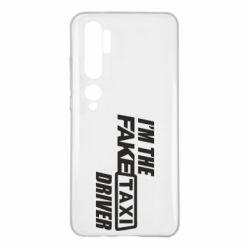 Чехол для Xiaomi Mi Note 10 I'm the Fake Taxi Driver