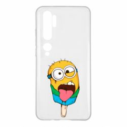 Чехол для Xiaomi Mi Note 10 Ice cream minions