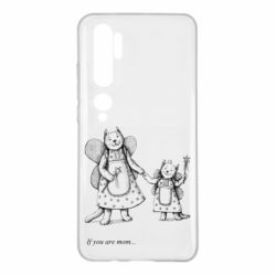 Чехол для Xiaomi Mi Note 10 If you are mom text