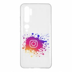 Чехол для Xiaomi Mi Note 10 Instagram spray