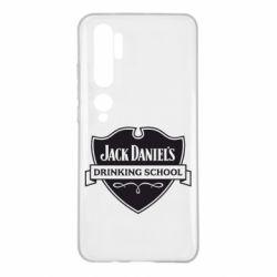 Чехол для Xiaomi Mi Note 10 Jack Daniel's Drinkin School