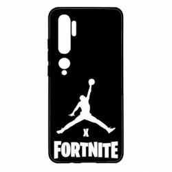 Чехол для Xiaomi Mi Note 10 JORDAN FORTNITE
