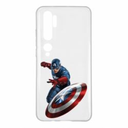 Чохол для Xiaomi Mi Note 10 Капітан Америка