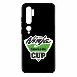 Чехол для Xiaomi Mi Note 10 Kawasaki Ninja Cup