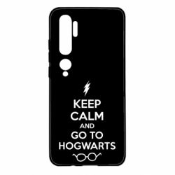 Чехол для Xiaomi Mi Note 10 KEEP CALM and GO TO HOGWARTS