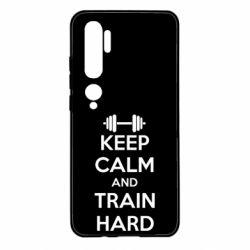Чехол для Xiaomi Mi Note 10 KEEP CALM and TRAIN HARD