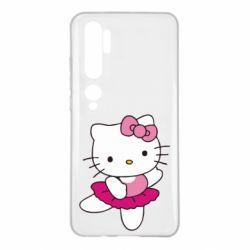 Чехол для Xiaomi Mi Note 10 Kitty балярина