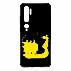 Чехол для Xiaomi Mi Note 10 Кий,Щек,Хорив