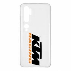 Чехол для Xiaomi Mi Note 10 KTM Racing